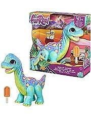 FurReal Snackende Sam de Bronto, interactief animatronisch pluchen speelgoed dier, meer dan 40 geluiden en reacties, vanaf 4 jaar