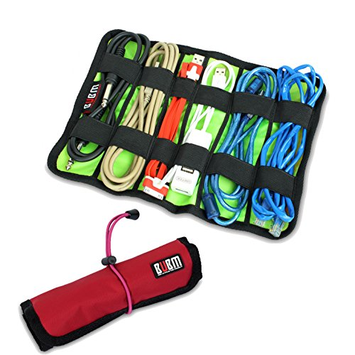 Damai Universal Cable/pens Organizer Stable/ Baby Healthcare & Grooming Kit (Large, Red)