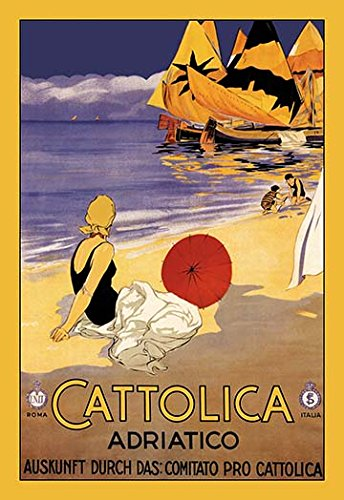Buyenlarge 'cattolica' vintage advertisement