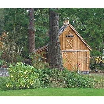 Amazon Com Candlewood Mini Barn Shed Garage And