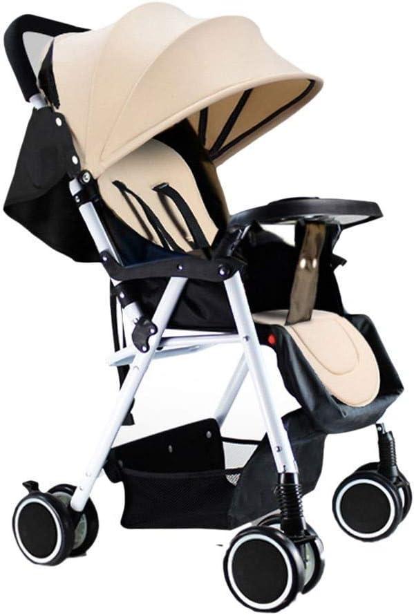 Tricycle Kids TRIKE Portátil Cochecito de bebé Trolley Viaje Ligero Ligero Carriajes Recién nacidos Sentado 2 en 1 Praz de PROM PROMO PARA NIÑOS PARA NIÑOS Cochecito de triciclo Silla de empuje infant