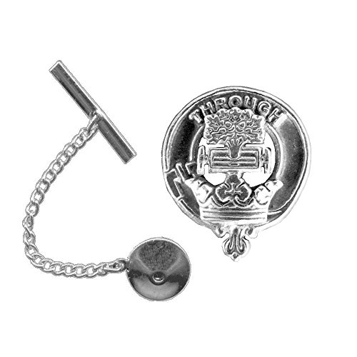 Hamilton Scottish Clan Crest Tie Tack / Lapel -