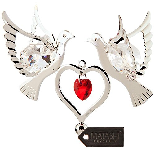 Double Heart Ornament - 3