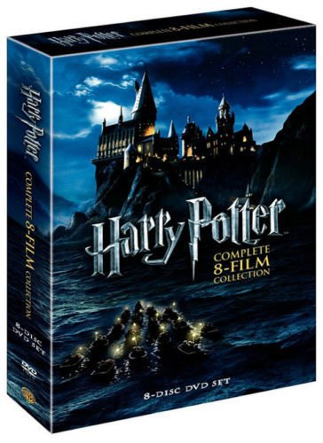 Harry Potter: 8 Film Collection (DVD, 2011, 8-Disc Set)