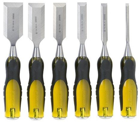 Stanley Hand Tools 16-971 6 Pc FatMax® Short Blade Chisel Set