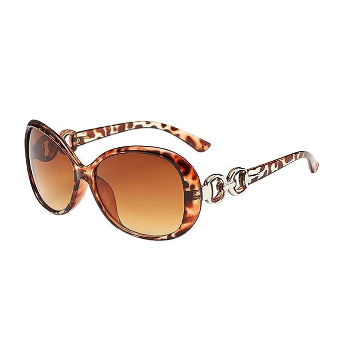 Yushiwu Gafas de Sol Hombre Mujer Moda Sunglasses Protección ...