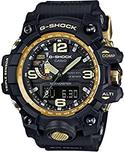 Casio Master of G Mudmaster Black Dial Resin Quartz Men's Watch GWG1000GB-1A