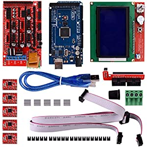 Amazon.com: WOWOONE CNC 3D Printer Kit for Arduino Mega 2560 ...