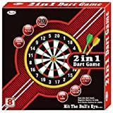 KCT BRANDED 2IN1 DART BOARD WITH DARTS+BEST FOR OUTDOOR ACTIVITY OF KIDS