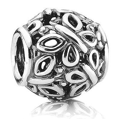 556793856 Pandora Silver Openwork Butterfly Charm 790895: Amazon.co.uk: Jewellery