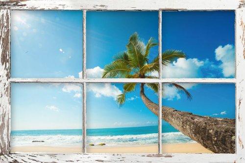 Beach Window Poster Bellavista