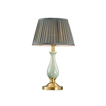 Amazon.com: WFL-% Table lamp Table Lamp All-Copper Ceramic ...