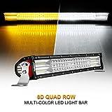 2002 acura rsx bumper cover - Curved LED Light Bar, Rigidhorse 22
