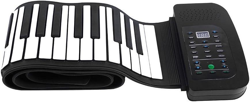 WLIXZ Piano portátil con Teclado de 88 Teclas, Piano ...