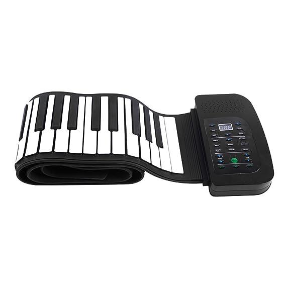 Amazon.com: WLIXZ Portable 88 Keys Keyboard Piano, Roll Up Piano, Foldable Keyboard Hand-Rolling Piano with Sustain Pedal: Sports & Outdoors