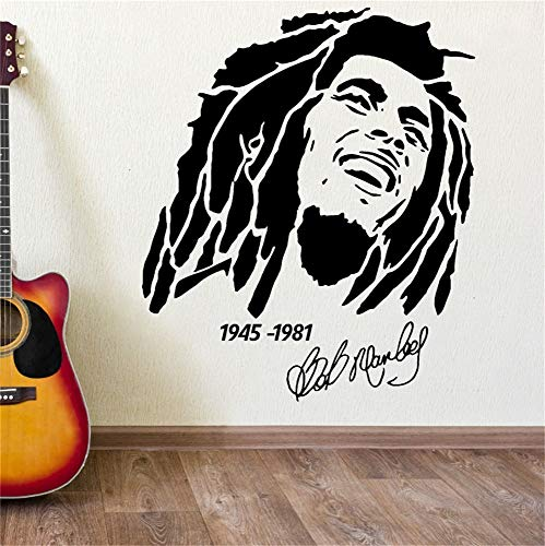Halloween 1981 Quotes (Umondon Wall Quotes Decal Wall Stickers Art Decor Bob Marley 1945 1981 Home Decor)