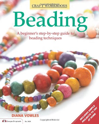 Download Beading: A beginner's guide to beading techniques (Craft Workbook) pdf