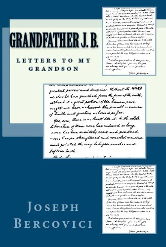 Grandfather J. B.: Letters to My Grandson (Journeys & Memoirs Series)