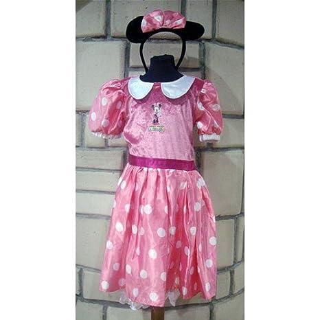 Vestido Carnaval niña Disney Minnie Mouse original 9/10 años ...