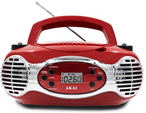 Akai CE2200R CD Boombox FM PLL Radio