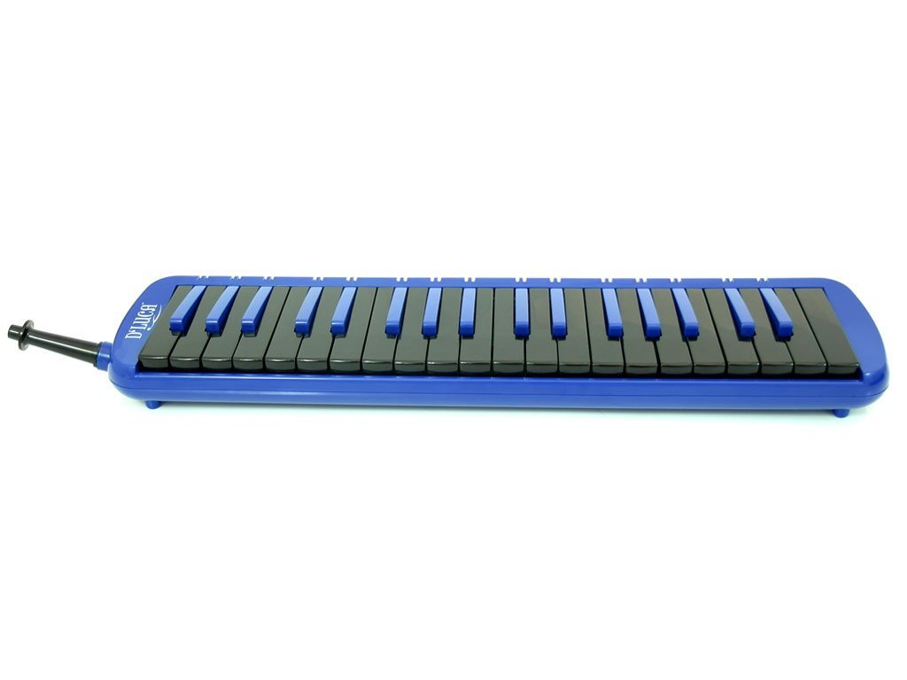 D'Luca M37-EVA-BL Blue 37 Key Jungle Melodica with EVA Carrying Case by D'Luca (Image #5)