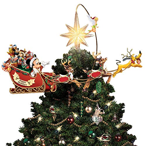 Mickey Mouse Pluto Tinker Bell Tree Topper