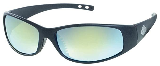 f97b9132c6c Image Unavailable. Image not available for. Color  Harley-Davidson Men s Matte  Black Wide Grey Lens Sunglasses ...