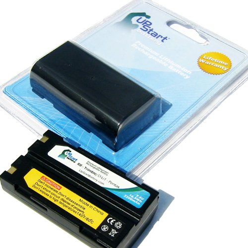2x Pack - Trimble GPS Battery Replacement (2200mAh, 7.4V, Lithium-Ion) - Compatible with Trimble 54344, 29518, 46607, 52030, 38403, R8, 5700, 5800, R6, R7, R8, R8 GNSS, MT1000 by UpStart Battery