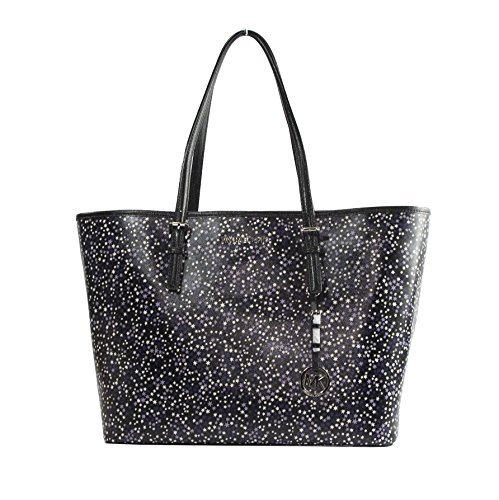 Michael Kors Illustrations Purple Stars Limited Edition Large Carryall Tote Bag
