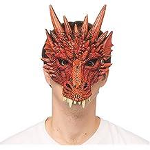 Supersoft Fantasy Adult Dragon Half Face Halloween Mask