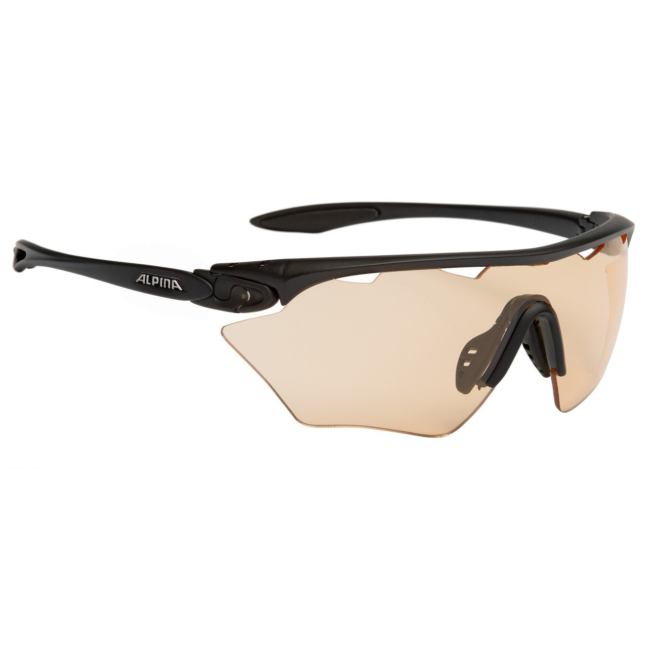 Alpina Twist Four Shield VL + unisex sports sunglasses One Size A8454131