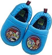 Josmo Kids Toy Story Boys' Plush Slipper - Blue - Sizes 5-12 - Tod