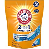 ARM & HAMMER 2-IN-1 Laundry Detergent Power Paks, 70 Count
