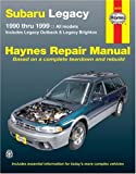 Subaru Legacy 1990 Thru 1999, Mike Stubblefield and Robert Maddox, 1563926466