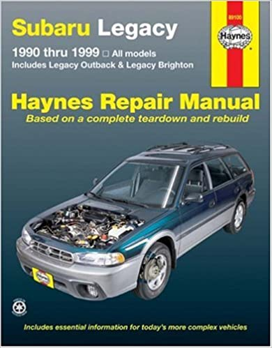 Subaru legacy 90 thru 99 haynes repair manual haynes subaru legacy 90 thru 99 haynes repair manual 1st edition fandeluxe Choice Image