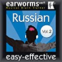 Rapid Russian, Volume 2 Audiobook by  earworms Learning Narrated by Marlon Lodge, Tatyana Komova