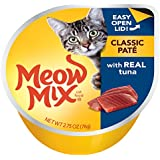 Meow Mix Tuna Pate Wet Cat Food, 2.75 oz (Pack of 12)