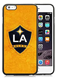 Fashionable And Antiskid Designed iPhone 6 plus Case MLS Los Angeles Galaxy iPhone 6 Plus 5.5 inch TPU Case Cover 16 Black