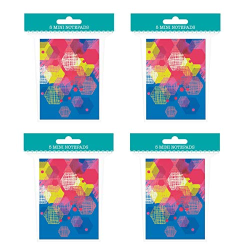 (Mini Notepad Set - 20 Notebooks Total! 1 Design - 4