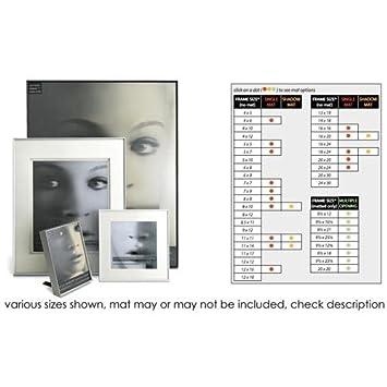 Amazoncom Fineline Picture Frame Color Silver Size 18 X 24