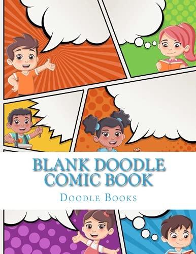 Blank Doodle Comic Book (Blank Doodle Comics 8.5 X 11) (Volume 1)
