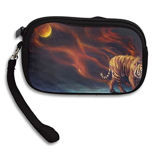 Deluxe Receiving Fantasy Tiger Purse Bag Portable Small Printing Animal EE01nZzqv