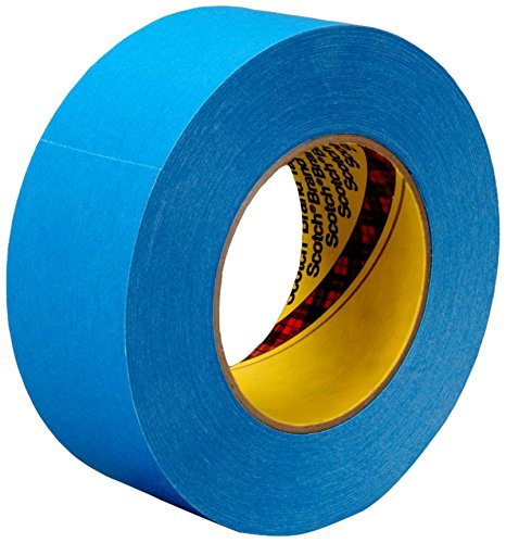 (3M 17586-case Repulpable Strong Single Coated Tape R3187, 96 mm x 55 m, Blue (Pack of 8))