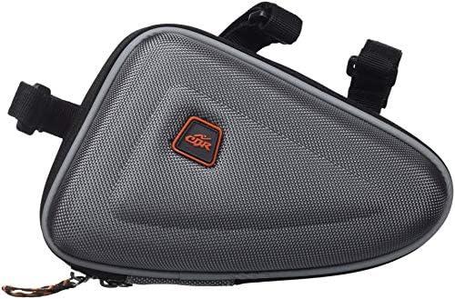 Cablematic - Bolsa maletín para cuadro de bicicleta de color gris ...