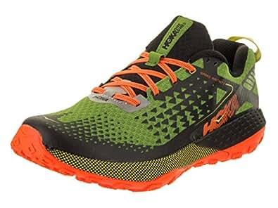 HOKA ONE ONE Men's Speed Instinct 2 Shoe (8, Jasmine Green/Black)