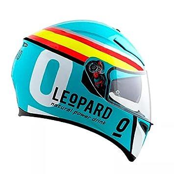 Amazon.es: # jm34 leopardo Racing Joan Mir 2018 AGV K3 SV ...