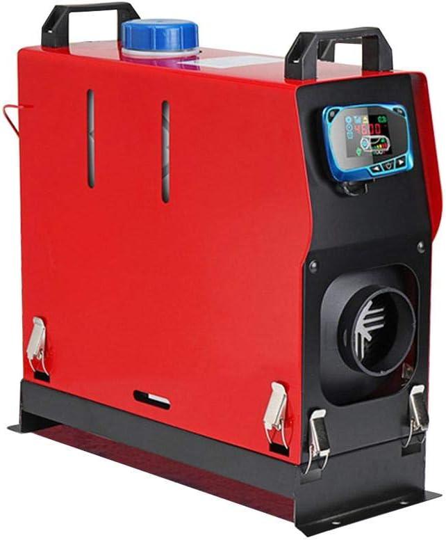 shape Lavadora de automóviles Calentador de Aire Diesel 12V 5000W Calentador de Combustible para Autos Máquina integrada Calefactor de Aire de 1 Orificios para Camiones SUV Camiones de pasajeros
