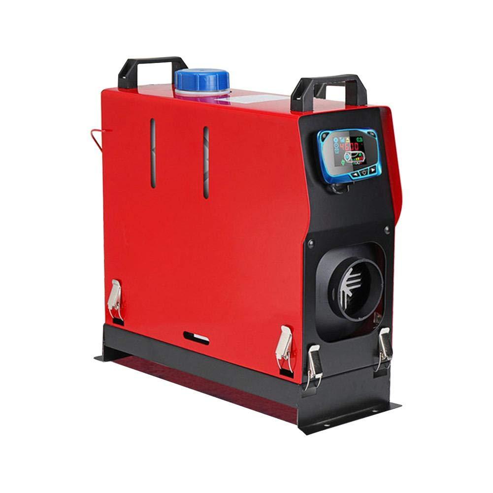 Lavadora de automó viles de 5000W Calentador de aire diesel 5KW 12 / 24V Un camió n Bus Motor - Barco domé stico + Interruptor de llave LCD + Silenciador Oshide