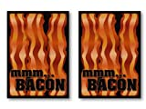 100 Bacon Deck Protectors Legion Supplies Art Printed Sleeves 2-Packs - Standard Magic the Gathering Size