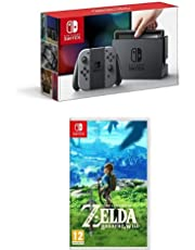 Nintendo Switch - Grigio + The Legend of Zelda: Breath of the Wild
